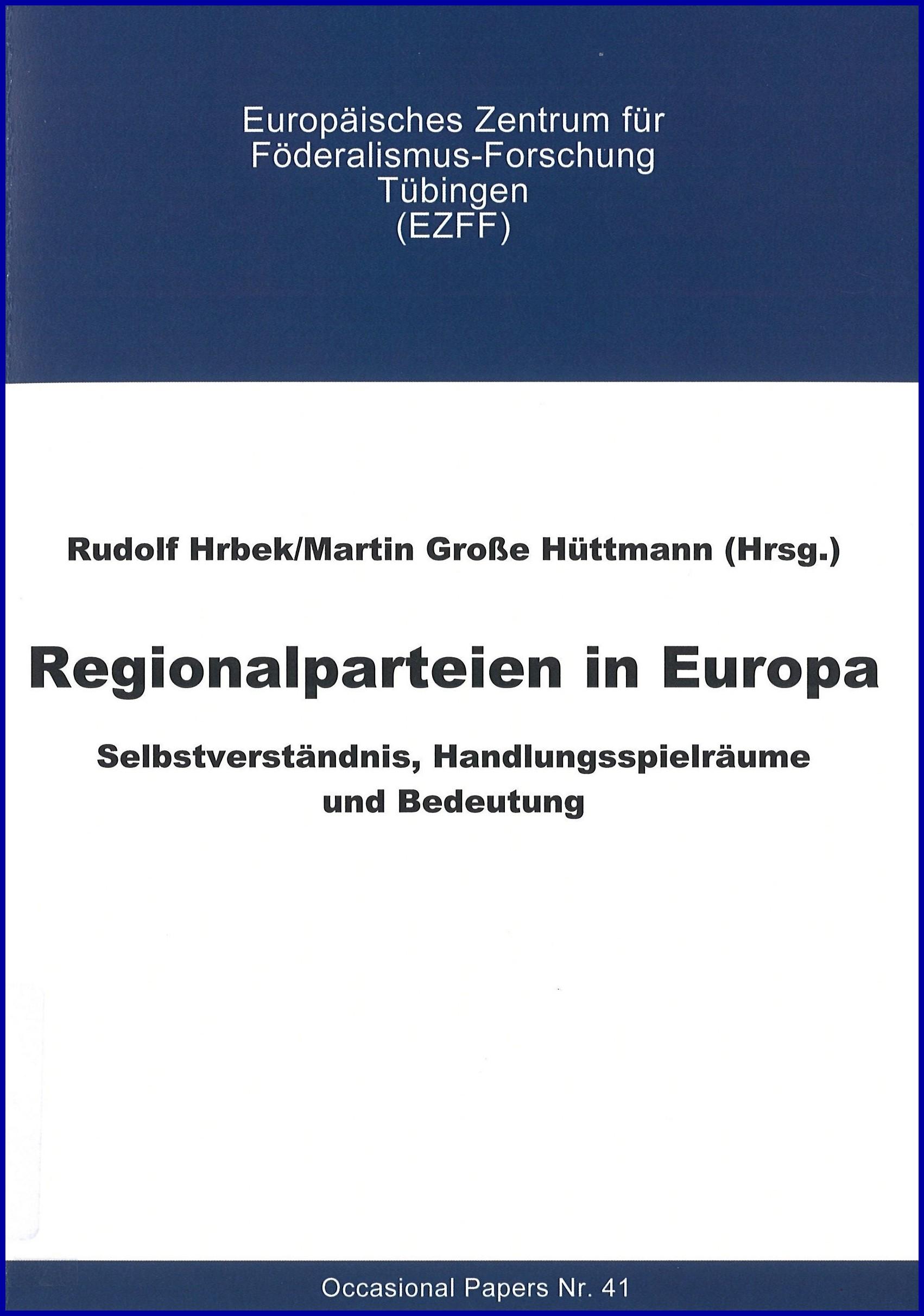 Regionalparteien in Europa
