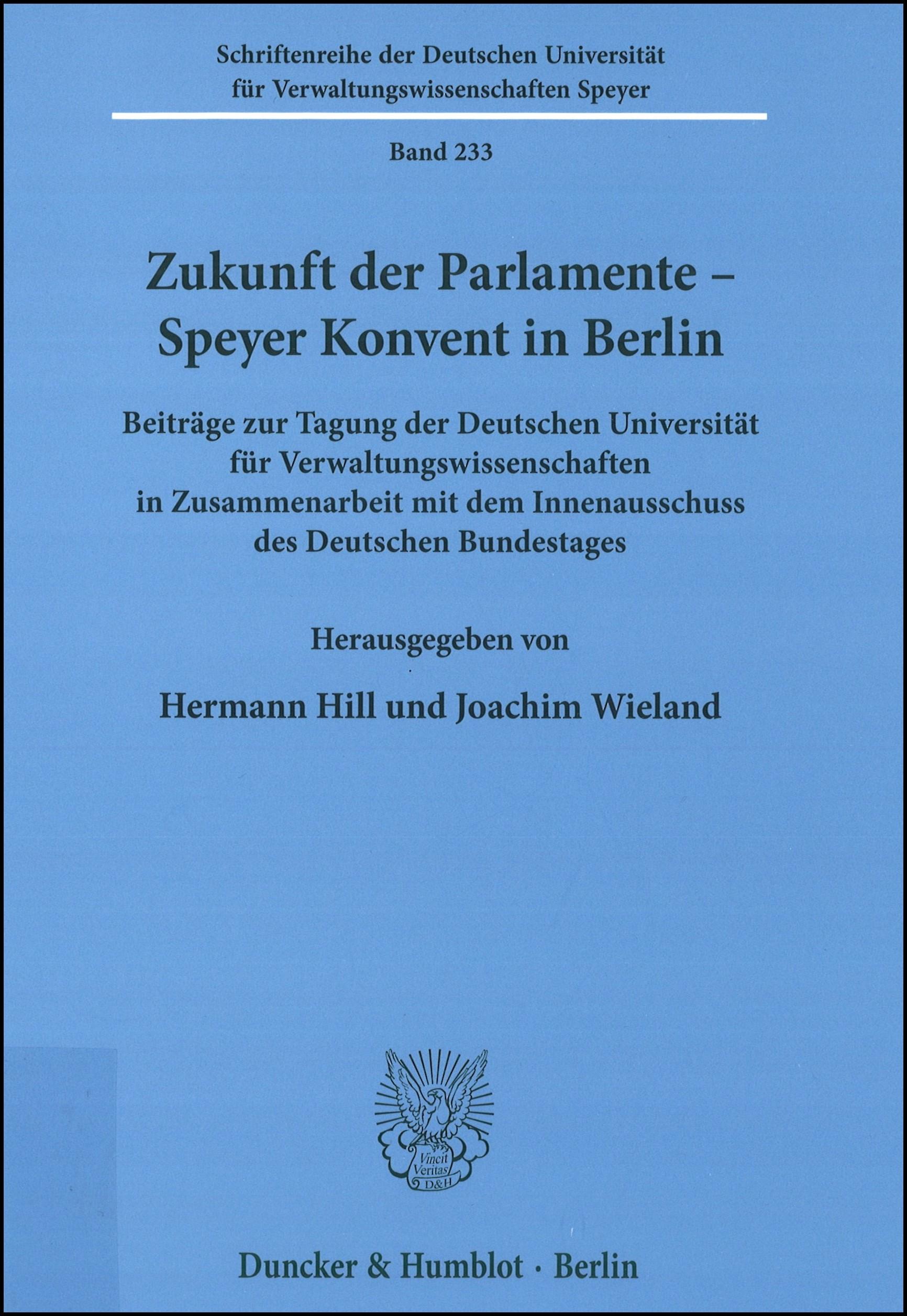 Zukunft der Parlamente