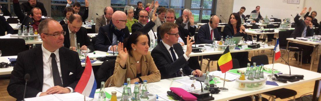 Interregionaler Parlamentarier-Rat: Plenarversammlung im Zeichen der Sprach- und Völkerverständigung