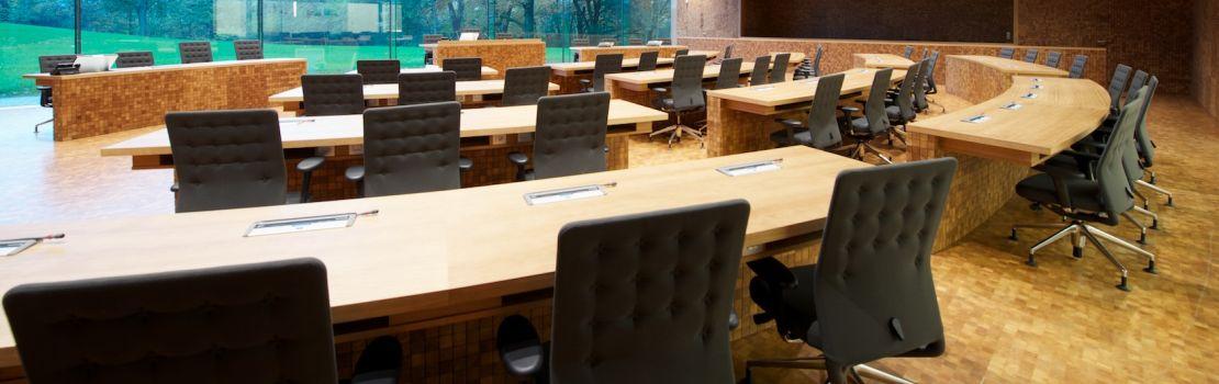 Konferenz  des Benelux-Parlaments in Eupen