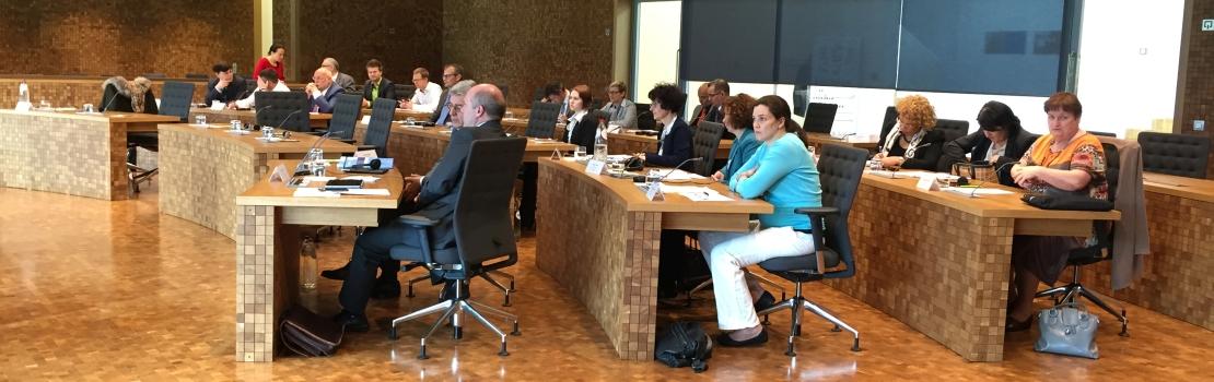 Parlament der Deutschsprachigen Gemeinschaft Gastgeber des Interregionalen Parlamentarierrates (IPR)