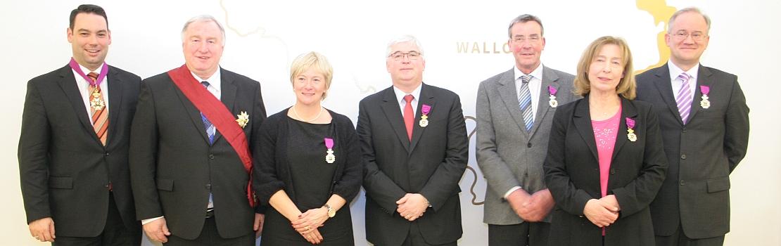 Nationale Orden verliehen