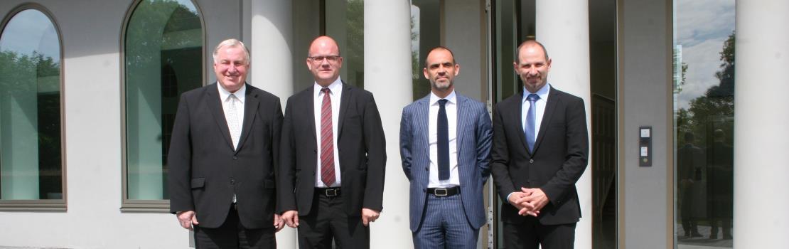 Philippe Courard zu Gast im PDG