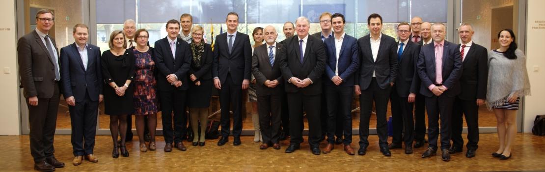 Gemeinsame Sitzung Ausschuss I des PDG mit dem Ausschuss für Zusammenarbeit des Flämischen Parlaments