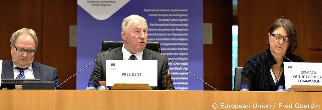 Parlamentsmitglied ist neuer Präsident im Ausschuss der Regionen