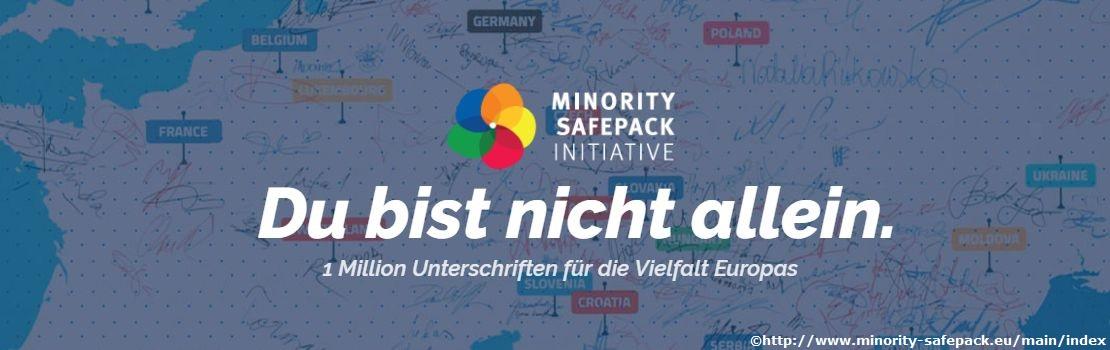 Minority SafePack – eine Million Unterschriften für die Vielfalt Europas