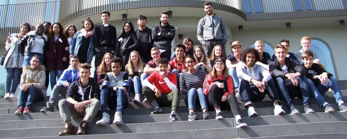 Schüler aus Brüssel und St. Vith knüpfen freundschaftliche Bande