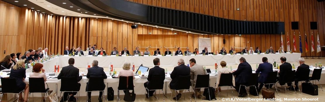 Teilnahme des Parlaments an der Gemeinsamen Landtagspräsidentenkonferenz in Vorarlberg