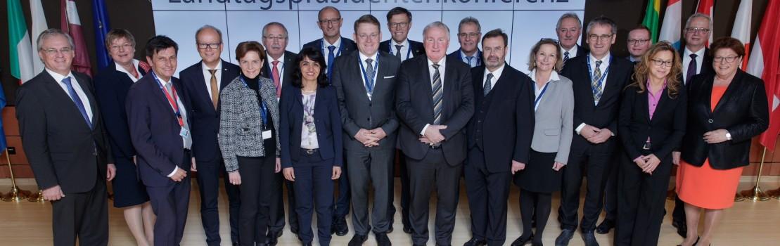 Europakonferenz der deutschen und österreichischen Landtagspräsidenten