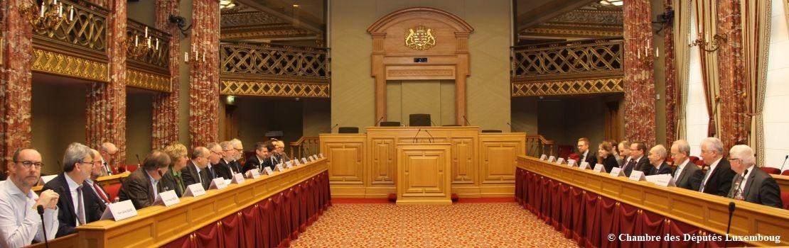 Aufschlussreiche Gespräche mit luxemburgischen Abgeordneten und Ministern
