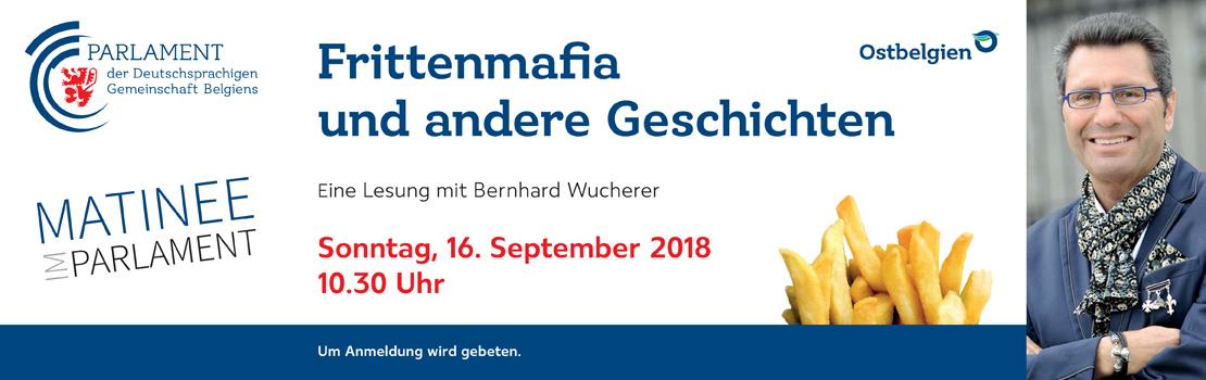 Frittenmafia und andere Geschichten – Eine Lesung mit Bernhard Wucherer