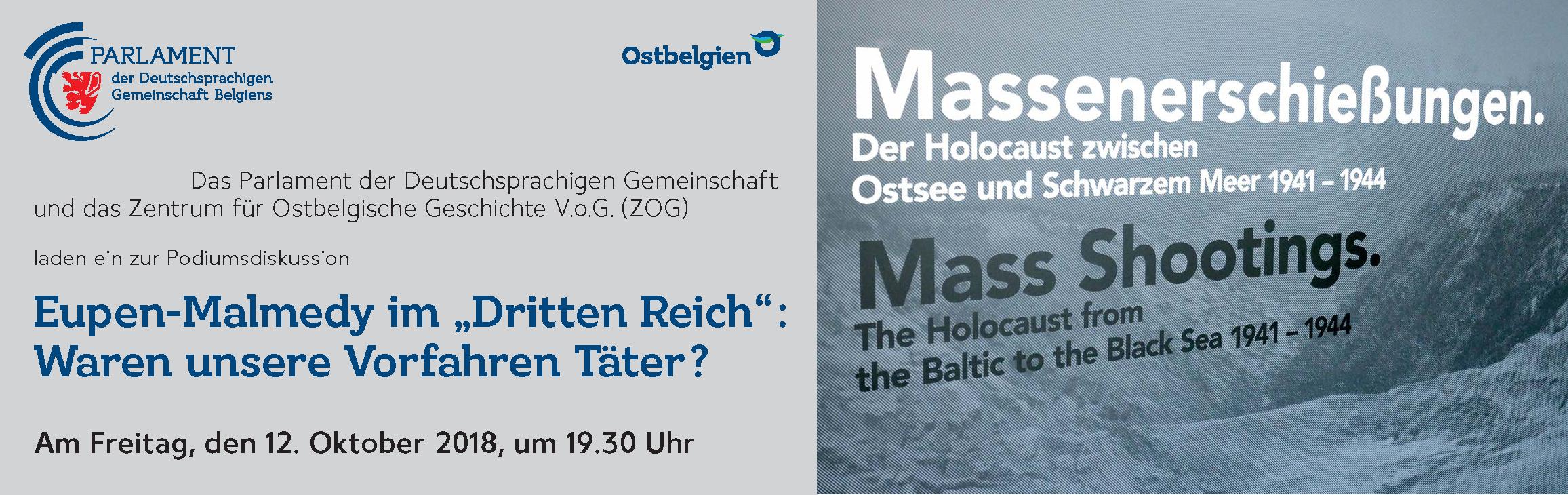"""Eupen-Malmedy im """"Dritten Reich"""": Waren unsere Vorfahren Täter?"""