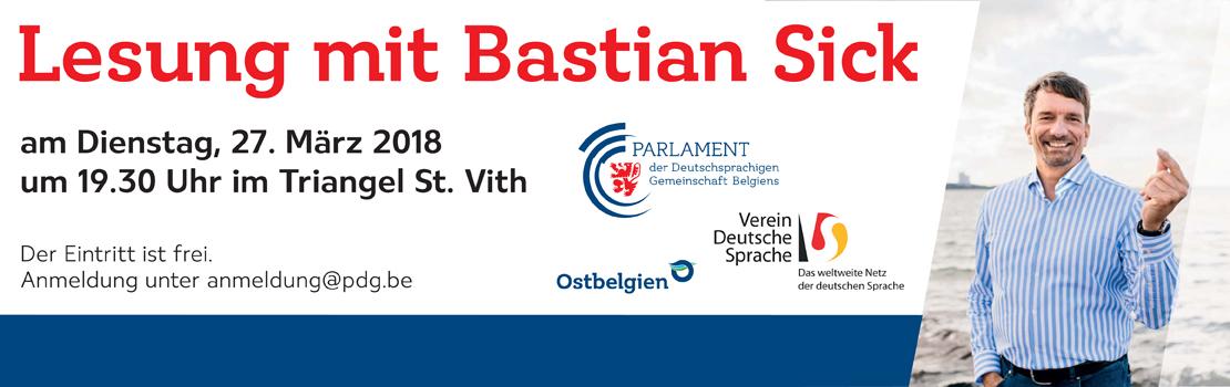 """Lesung mit Bastian Sick - """"Schlagen Sie dem Teufel ein Schnäppchen!"""""""