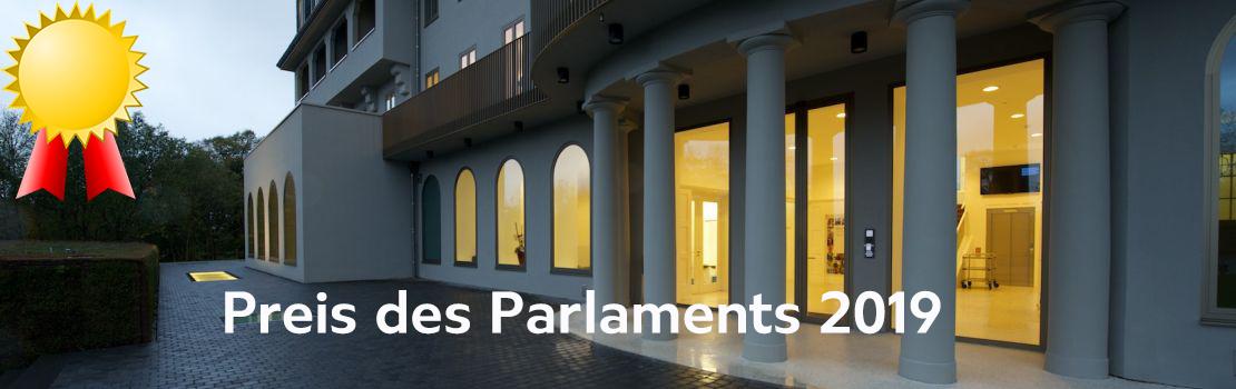 Preis des Parlaments der Deutschsprachigen Gemeinschaft 2019