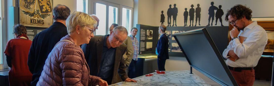 Besuch des Museums Vieille Montagne und Austausch mit den anerkannten Museen