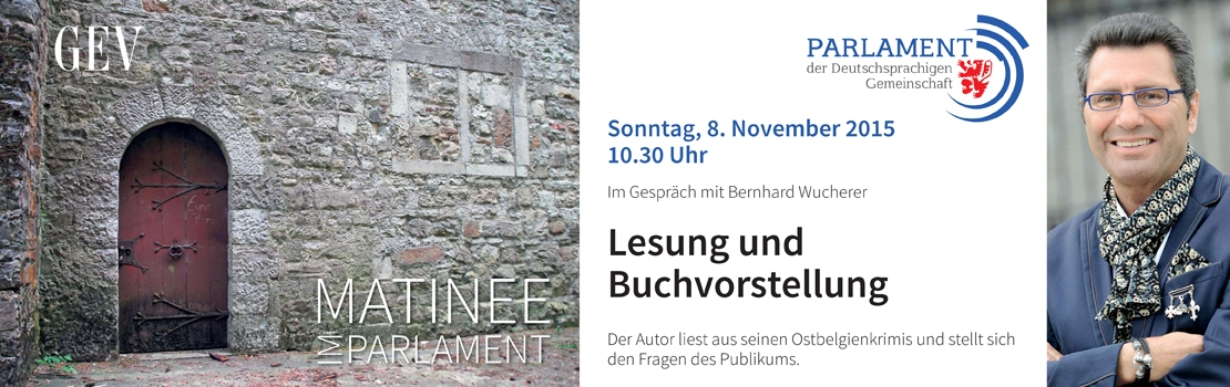 Bernhard Wucherer stellt seinen neusten Roman vor