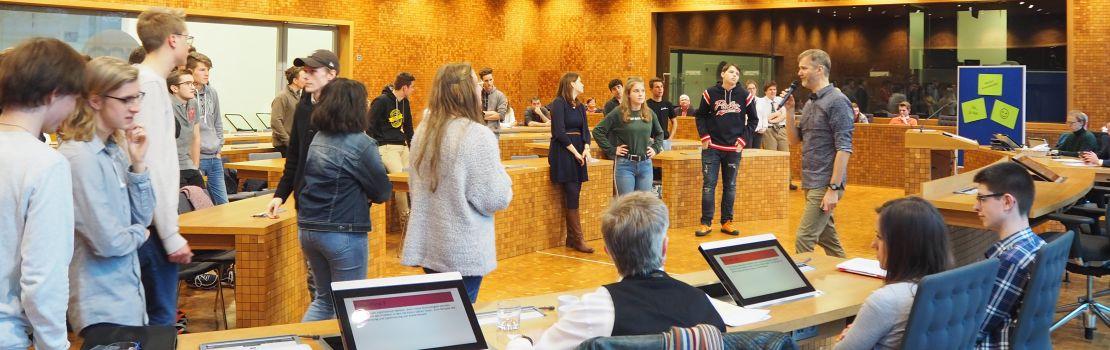 #Youthforclimate – Austausch im Parlament