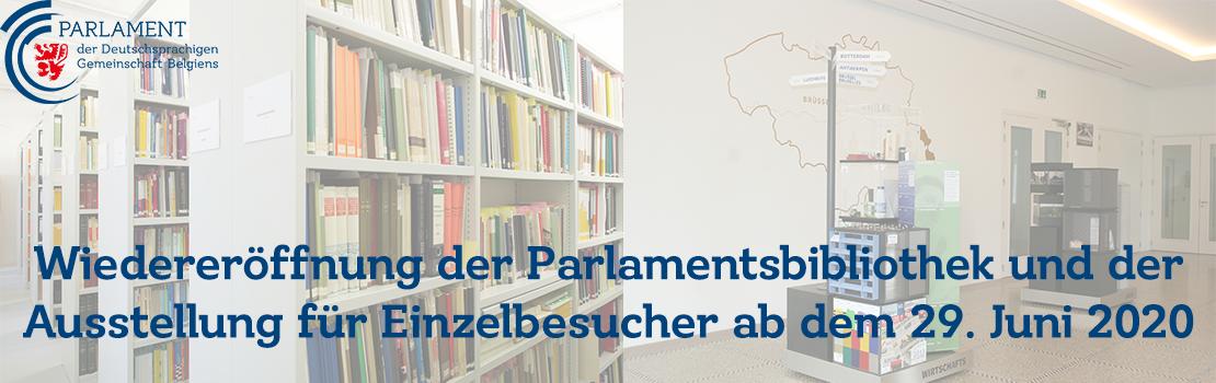 Parlament öffnet seine Türen