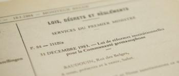 Verfassung und Grundlagengesetze