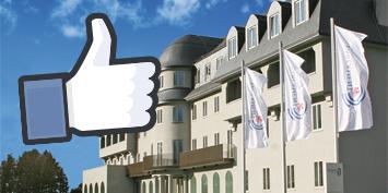 Das Parlament auf Facebook