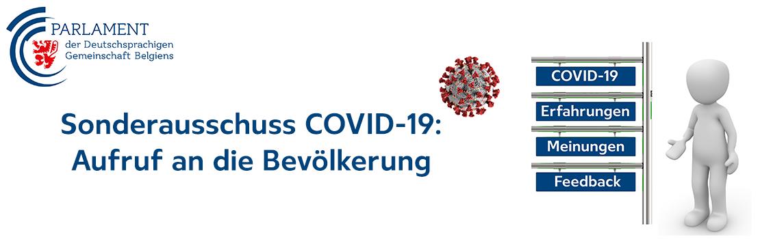 Sonderausschuss zur Aufarbeitung der COVID-19-Pandemie und der Folgen der diesbezüglich getroffenen Maßnahmen in der Deutschsprachigen Gemeinschaft
